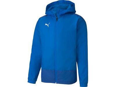 PUMA Herren Jacke teamGOAL 23 Training Rain Blau