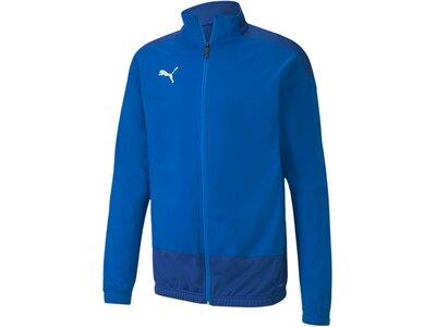 PUMA Herren teamGOAL 23 Training Jacke Blau