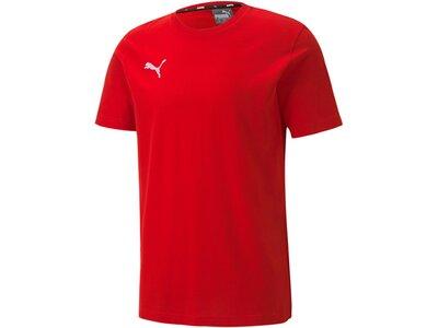 PUMA Herren Shirt teamGOAL 23 Casuals Rot