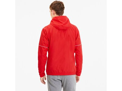 PUMA Fußball - Teamsport Textil - Allwetterjacken teamGOAL Regenjacke Rot