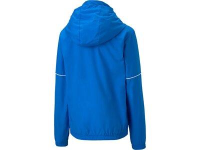 PUMA Kinder Jacke teamGOAL Rain Core Blau