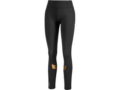 PUMA Damen Tight Metal Splash Eclipse Schwarz