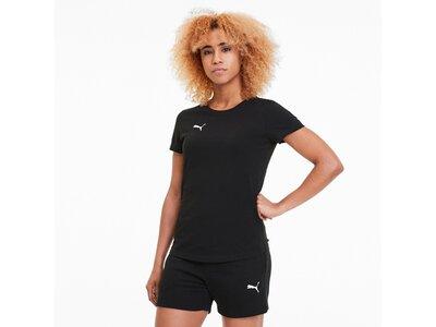PUMA Fußball - Teamsport Textil - T-Shirts teamGOAL 23 Casuals T-Shirt Damen Schwarz