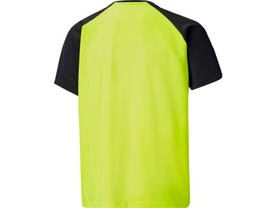PUMA Kinder Shirt teamLIGA Graphic Jersey Jr Schwarz