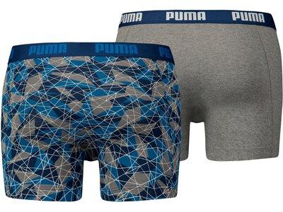 PUMA Herren Unterhose HYPER CAMO 2P Blau
