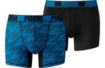 Vorschau: PUMA Herren Unterhose ACTIVE CELLAR CAMO PRINT BOXER 2P PACKED