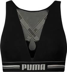 PUMA Damen Unterhemd HIGH NECK BRA WITH MESH 1P