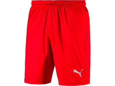 PUMA Herren Fußballshorts LIGA Shorts Core Rot