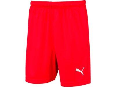PUMA Kinder Fußballshorts LIGA Shorts Core Jr Rot