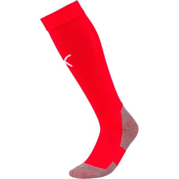 PUMA Herren Fußballsocken Team LIGA Socks CORE | Sportbekleidung > Funktionswäsche > Fußballsocken | Red - White | PUMA