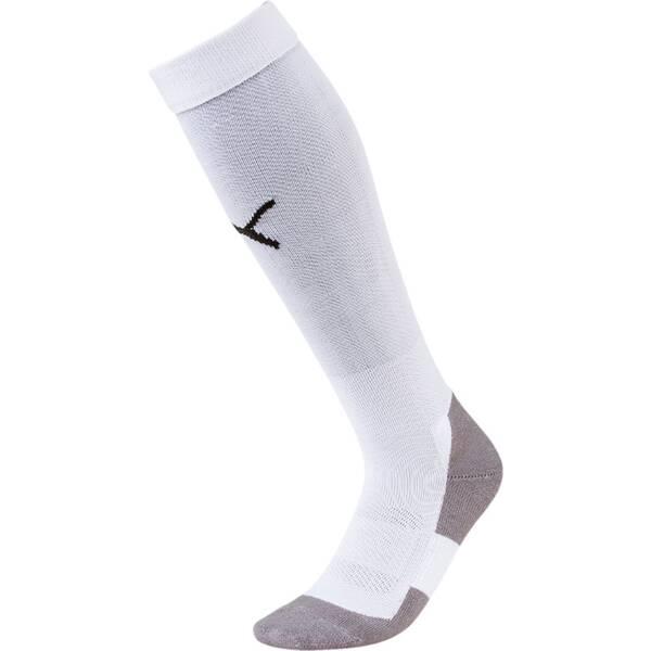 PUMA Herren Fußballsocken Team LIGA Socks CORE | Sportbekleidung > Funktionswäsche > Fußballsocken | White - Black | PUMA
