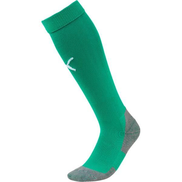 PUMA Herren Fußballsocken Team LIGA Socks CORE   Sportbekleidung > Funktionswäsche > Fußballsocken   Green - White   Puma