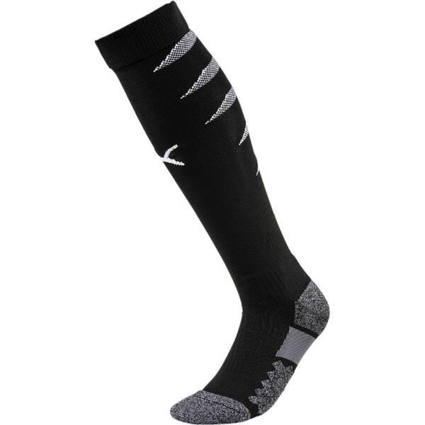 PUMA Herren Fußballsocken Team FINAL Socks | Sportbekleidung > Funktionswäsche > Fußballsocken | Black - White | PUMA