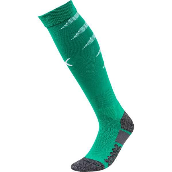 PUMA Herren Fußballsocken Team FINAL Socks | Sportbekleidung > Funktionswäsche > Fußballsocken | Green - White | PUMA