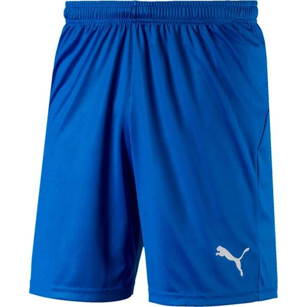 PUMA Herren Fußballshorts LIGA Shorts Core with Brief | Sportbekleidung > Sporthosen > Fußballhosen | Blue - White | PUMA