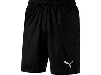 PUMA Herren Fußballshorts LIGA Shorts Core with Brief Schwarz