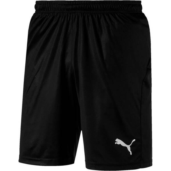 PUMA Herren Fußballshorts LIGA Shorts Core with Brief | Sportbekleidung > Sporthosen > Fußballhosen | Black - White | Puma