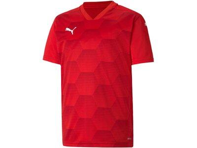 PUMA Kinder Fantrikot teamFINAL 21 Graphic Jersey Rot