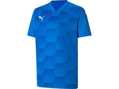 PUMA Kinder Fantrikot teamFINAL 21 Graphic Jersey Blau