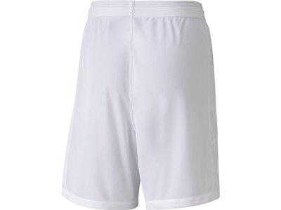 PUMA Kinder Shorts teamFINAL 21 knit Weiß