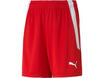 PUMA Kinder Shorts teamLIGA Shorts Jr Rot