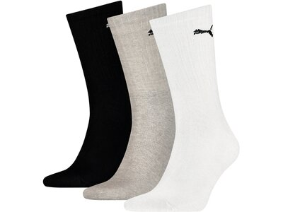PUMA Herren Socken SPORT 3P Schwarz