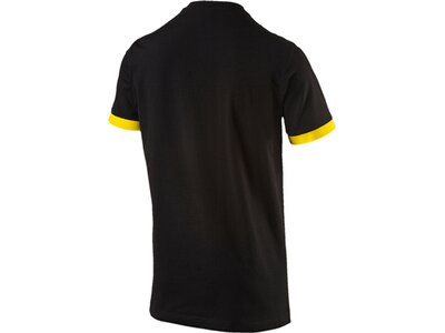 Puma Herren T-Shirt BVB Badge Tee Schwarz