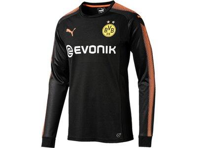 Puma Herren Fußballtrikot BVB GK Shirt Schwarz