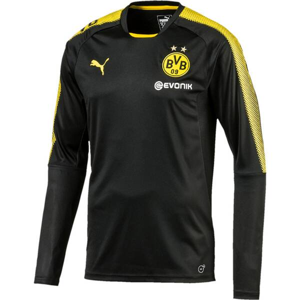 Puma Herren Shirt BVB LS Training Jersey mit Sp