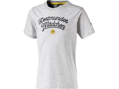 Puma Kinder T-Shirt BVB Grau
