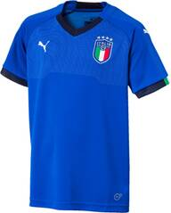 PUMA Kinder Trikot FIGC Italia Kids Home Shirt Re