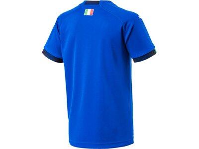 PUMA Kinder Trikot FIGC Italia Kids Home Shirt Re Blau
