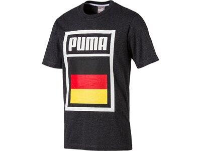 Puma Herren Shirt Forever Football Country Cotto Schwarz