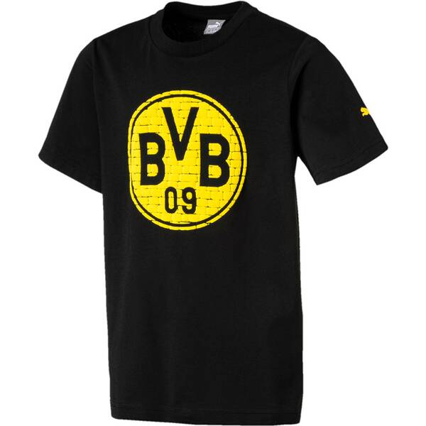 Puma Kinder T-Shirt BVB Fan Tee Jr
