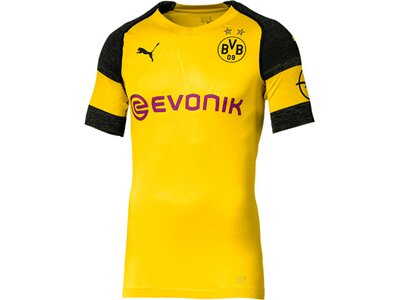 PUMA Herren Trikot BVB Authentic Home Shirt - evoKNIT with Evonik Logo with OPE Gold
