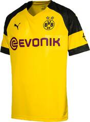 PUMA Herren Trikot BVB Home Shirt Replica with Evonik Logo with OPEL Logo