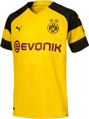 PUMA Kinder Trikot BVB Home Shirt Replica Jr with Evonik Logo with OPEL Logo