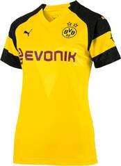 PUMA Damen Trikot BVB Wms Home Shirt Replica with Evonik Logo with OPEL Logo
