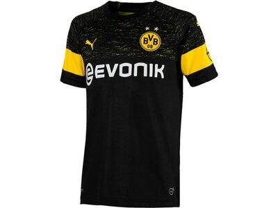 PUMA Kinder Trikot BVB Away Shirt Replica Jr with Evonik Logo with OPEL Logo Schwarz