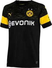 PUMA Kinder Trikot BVB Away Shirt Replica Jr with Evonik Logo with OPEL Logo