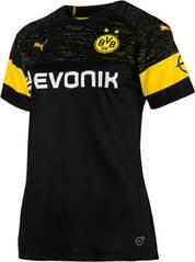 PUMA Damen Trikot BVB Wms Away Shirt Replica with Evonik Logo with OPEL Logo