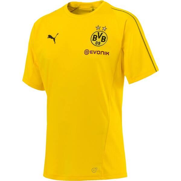 PUMA Herren T-Shirt BVB Training Jersey with Sponsor Logo | Sportbekleidung > Sportshirts > Poloshirts | Puma