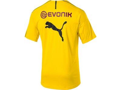 PUMA Herren T-Shirt BVB Training Jersey with Sponsor Logo Gold