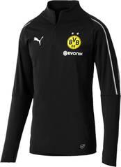 PUMA Herren T-Shirt BVB 1/4 Training Top with Sponsor Logo