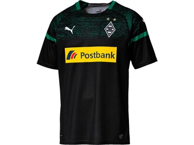 PUMA Herren Trikot BMG Away Shirt Replica with Sponsor Logo Schwarz