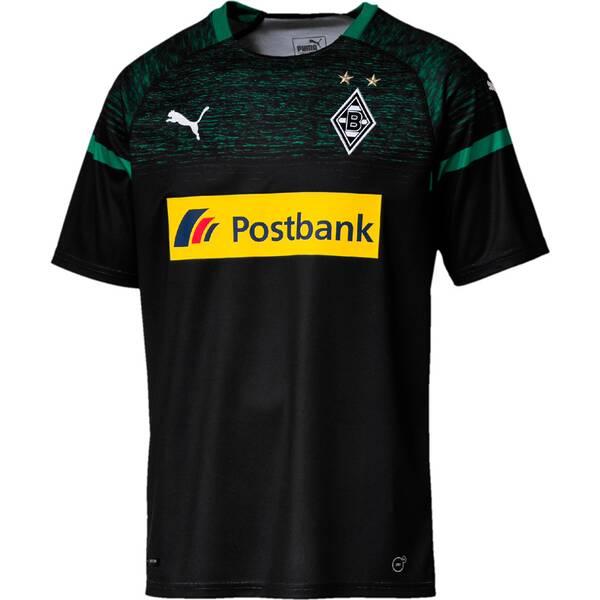PUMA Herren Trikot BMG Away Shirt Replica with Sponsor Logo