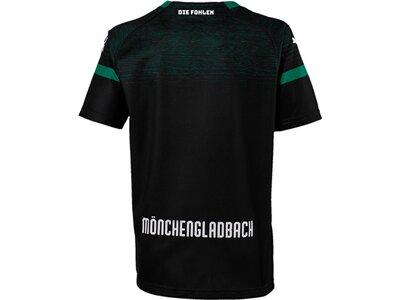 PUMA Kinder Trikot BMG Away Shirt Replica Jr with Sponsor Logo Schwarz