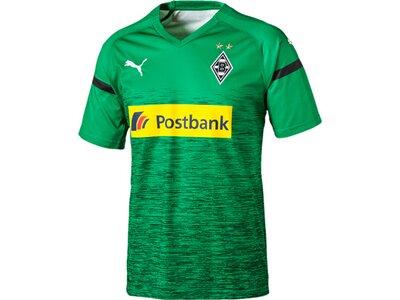 PUMA Herren Trikot BMG 3rd Shirt Replica with Sponsor Logo Grün