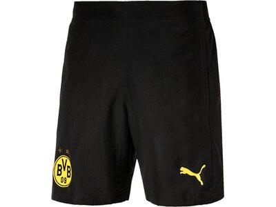 PUMA Herren Shorts BVB Leisure Shorts with 2 Schwarz