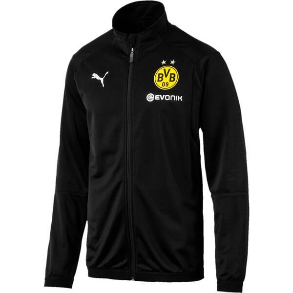 PUMA Herren Trainingsjacke BVB Poly Jacket with Sponsor Logo with 2 side pockets with z
